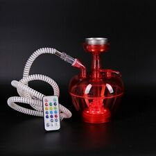 Portable Hookah Cup Shisha Smoking Travel Cup With LED Light (Colors may vary)