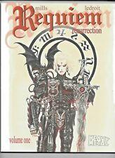 Requiem Resurrection Collected Vol 1 Mills Ledroit 2009 Heavy Metal 144 pp VF+