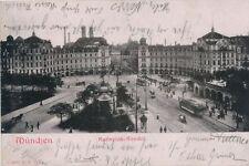 Ak, München, Karlsplatz Rondel, 1903, (G)