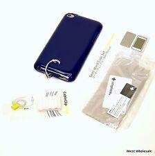 iPod touch 4th Gen - NAVY BLUE Semi Hard TPU Case | Simplism TR-SHCSTCN-NV/EN