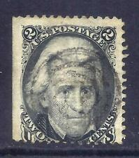 US Stamps - #87 - USED - 2 cent Black Jack Issue w/E Grill - CV $190