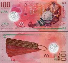 MALDIVE - Maldives 100  Rufiyaa 2016 (2015) Polymer - UNC