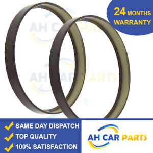 2X Rear ABS Magnetic Ring For Mercedes Benz E-Class (W211)