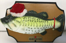 Vintage 1999 Gemmy Singing Big Mouth Billy Bass Christmas ~ Tested Works