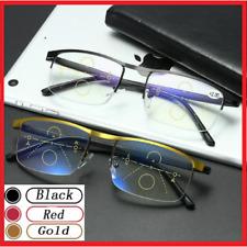 German Intelligent Color Progressive Auto Focus Multifocal Reading Glasses Unsex