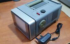 "Realistic Portavision 30 portable 5"" CRT television TV Retro vintage"