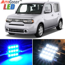 9 x Premium Blue LED Lights Interior Package Kit for Nissan Cube 2009-2014 +Tool
