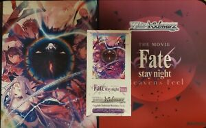 """""""Fate Stay Night Heaven's Feel Vol. 2"""" Weiss Schwarz English Sealed Booster Box"""