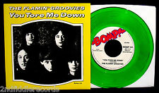 THE FLAMIN' GROOVIES-You Tore Me Down-Picture Sleeve+Colored 45-Very 1st BOMP 45