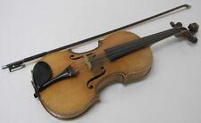 Vintage 1929 Herman Hochmuth Milwaukee GERMAN Violin - w/ Case, Bow