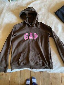 brown gap hoodie