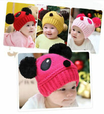 Boys' Animal Print Knitted Baby Caps & Hats