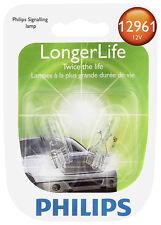 License Light Bulb-LongerLife - Twin Blister Pack Philips 12961LLB2