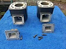 YAMAHA RD250 LC 4L1 MATCHED FULLY PORTED BARRELS PISTONS & REED VALVE BLOCKS