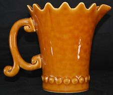 Style Eyes Unique Golden Brown Pitcher by Baum Brothers