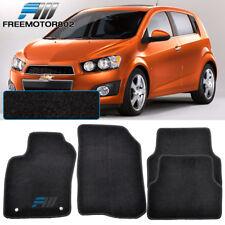 For 12-14 Chevrolet Sonic 4Dr Black Nylon Floor Mats Carpets 4PC