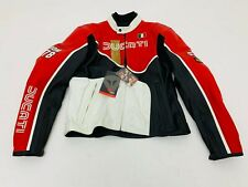 GIUBBOTTO IN PELLE UOMO MAN'S JACKET DAINESE DUCATI IOM 78 TG. 56 cod. 982906027