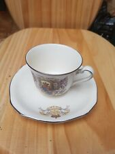 More details for queen mary and king george  silver jubilee cup /saucer 1935