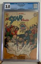 ALL-STAR COMICS #37 - 1947 - CGC 3.0 - FIRST INJUSTICE SOCIETY - GOLDEN AGE