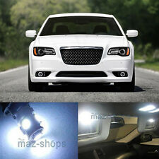 19Pcs Xenon White LED Light  Interior Package For  2011- 2014 Chrysler 300 300C