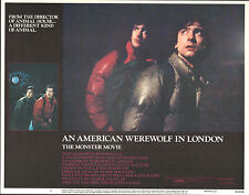 AN AMERICAN WEREWOLF IN LONDON orig lobby card GRIFFIN DUNNE 11x14 movie poster