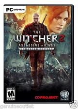The Witcher 2 Assassins Of Kings Enhanced Edition PC US Version Brand New Sealed