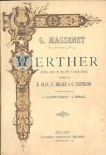 MASSENET G., Werther