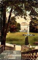 FULDA Hessen um 1910 Garten Park Partie im Schloss-Garten alte color Postkarte