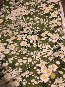 DAISY NATURES HERITAGE VINTAGE GREEFF FABRICS NATIONAL Fabric 3 1/2  Yd