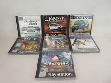 Job Lot of 7 Original Playstation Games Mixed Genres