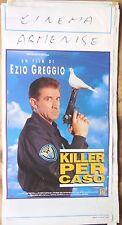 locandina playbill CINEMA KILLER PER CASO EZIO GREGGE