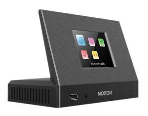 NOXON A120+ HiFi-Tuner DAB/DAB+, UKW, Internetradio, TFT Farbdisplay schwarz