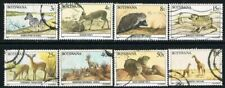 Botswana 1987. Nature. Animals. Part set. Used.
