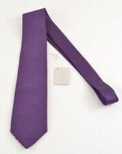 Paolo Albizzati NWT Neck Tie In Blues & Fuchsia Basket weave 100% Silk