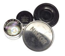 Nikkor 5cm f1.5 Tokyo Leica SM  #907624 ................. Very Rare !!
