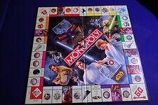 Monopoly Star Wars Saga Edition.2005 Game Board Replacement ONLY