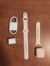Apple Watch Series 5 44mm Gold-Tone Aluminium Case with Pink Sand Sport Band - …