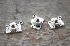 15pcs-Camera Charms, Antique Tibetan Silver Camera charm penant 21X16mm
