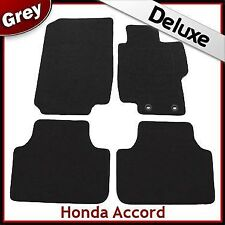 Honda Accord Mk7 2002-2008 Tailored LUXURY 1300g Carpet Car Floor Mats GREY