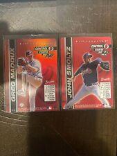 Greg Maddux & John Smoltz 2000 MLB Showdown 1st Edition