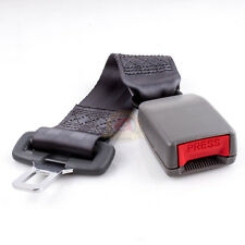 "14"" Universal Car Seat Seatbelt Safety Belt Extender Extension 7/8"" Buckle Gray"