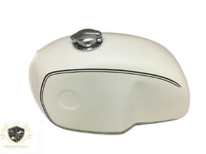 BMW R100 RT RS R90 R80 R75 CREAM PAINTED STEEL PETROL TANK| Fit For