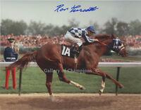 Secretariat 1973 Kentucky Derby #1 8x10 Photo Signed Ron Turcotte