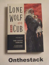 MANGA:   Lone Wolf and Cub Vol. 28: The Lotus Throne by Kazuo Koike (Paperback)