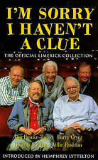 I'm Sorry I Haven't A Clue: The Official Limerick Collection - New Book Cryer, B