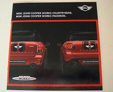 MINI John Cooper Works Sales Brochure July 2015