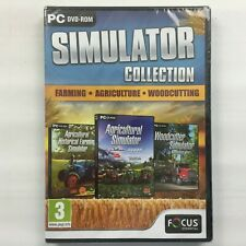 Farming, Agriculture and Woodcutting Simulator Triple Pack (PC DVD) - Brand New