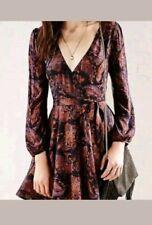 Urban Outfitter Ecote Paisley Boho Wrap Dress Size M