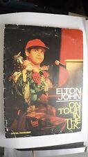 Elton John Tour Programme 1989