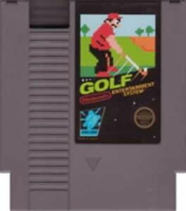 Golf - NES Nintendo Game